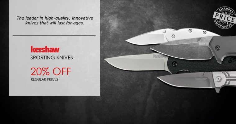 Save 20% on All Kershaw Knives Till June 25th!