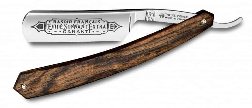 Thiers-Issard Bocote Wood Singing Straight Razor
