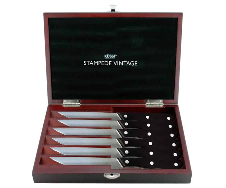 Kussi Stampede Vintage Steak Set