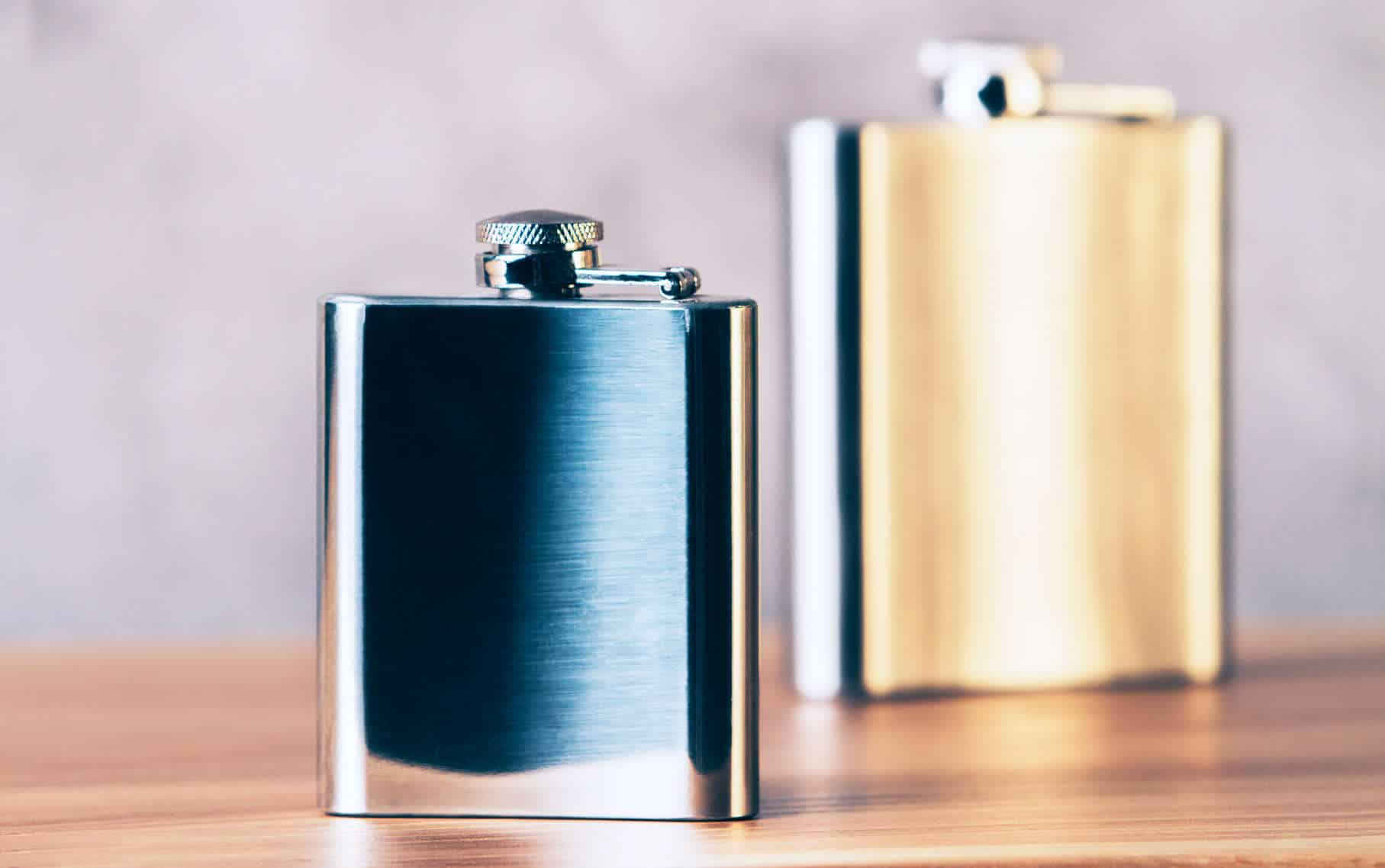 Flask-Silver-Gold