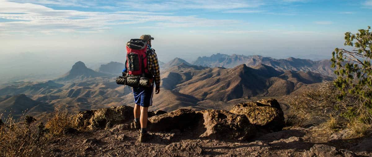 Hiking-Man-Mountains