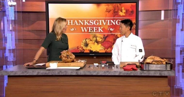 Andre Eng Talks Thanksgiving Turkey on CTV Morning Live