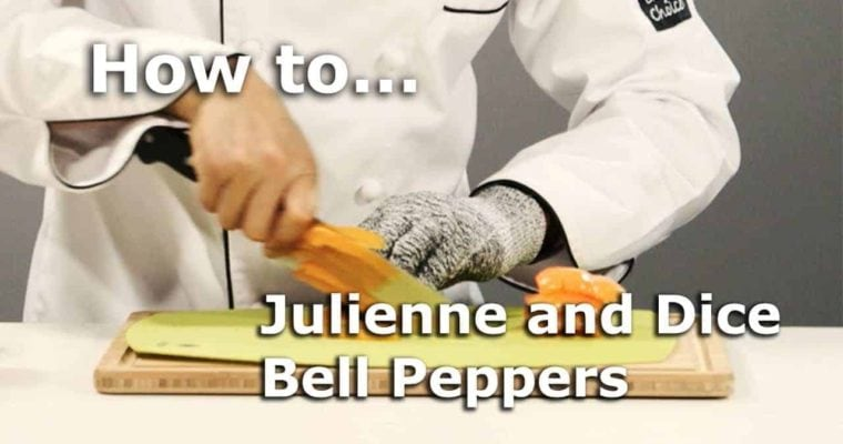 How to Dice and Julienne a Bell Pepper