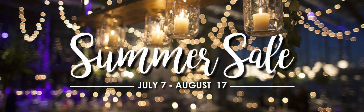 Summer Sale July 7 to August 17