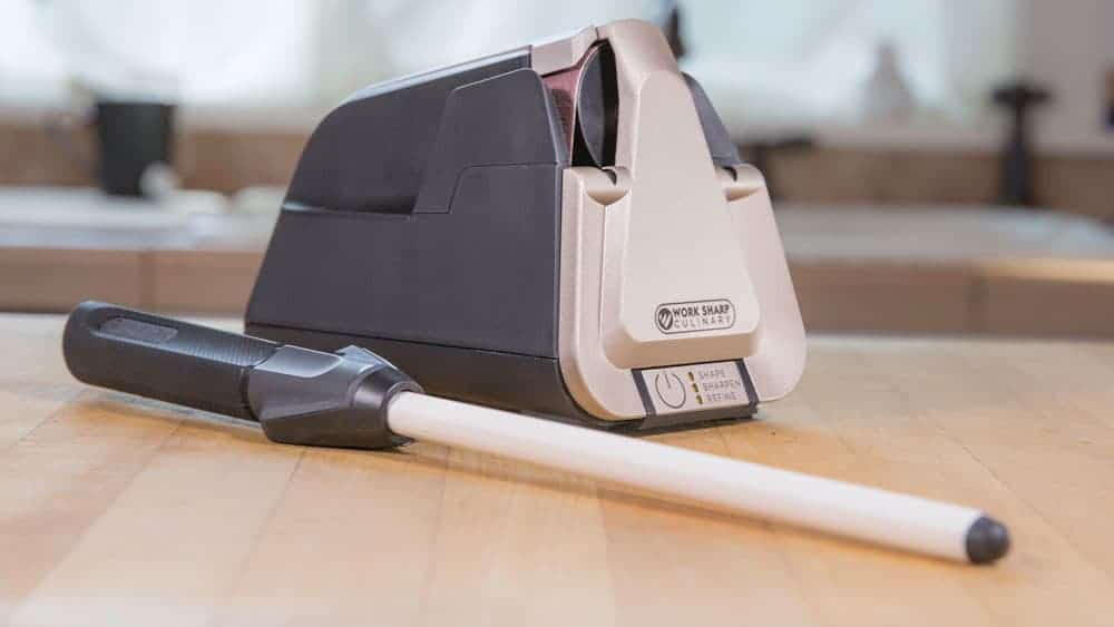 Work Sharp Culinary E5 Electric Sharpening System