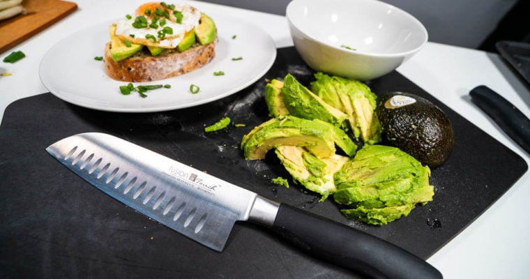 Fusion Touch Knives Tackle Avocado Toast